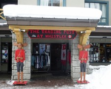Shops in Whistler Village