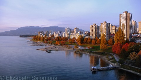 English Bay Fall