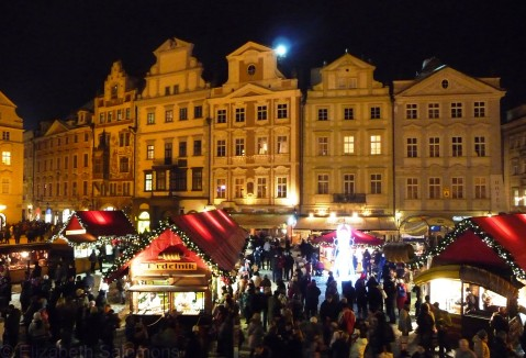 Christmas Market, Prague