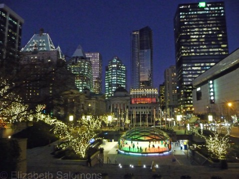 Robson Square Christmas Lights
