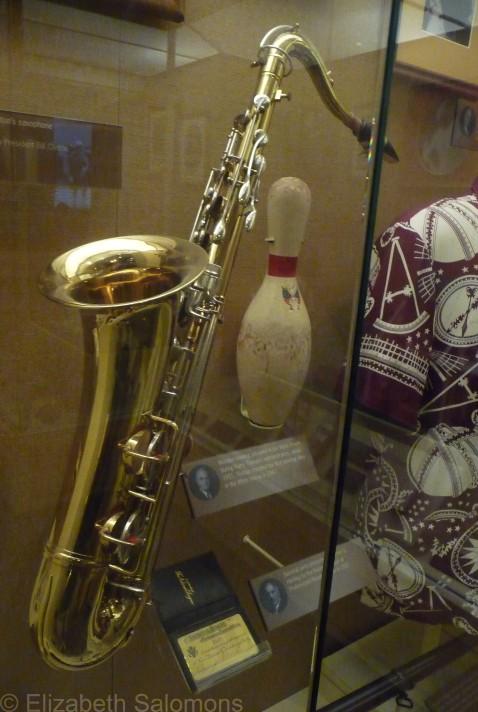 Bill Clinton's saxophone