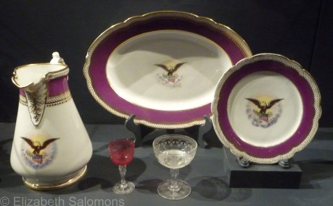 Mary Todd Lincoln's  china