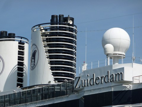 Holland America has five ships based in Vancouver this season.