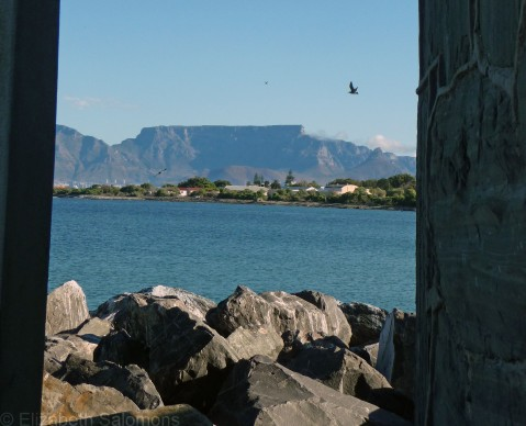 Table Mountain as seen from Robben Island