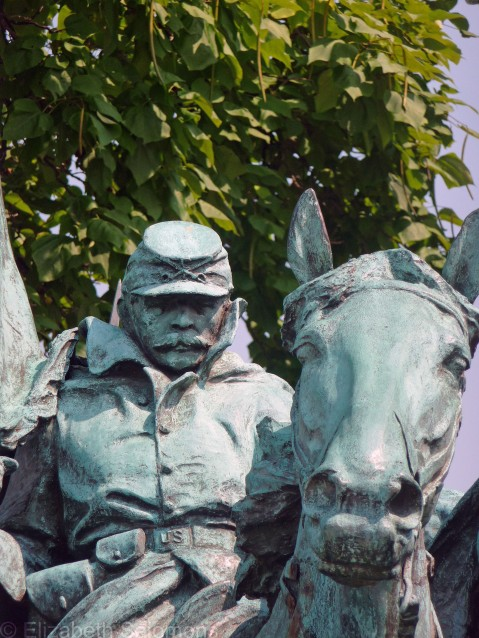Grant Cavalry Soldier and Horse
