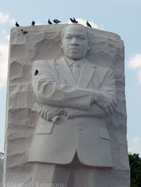 MLK Memorial Close-up