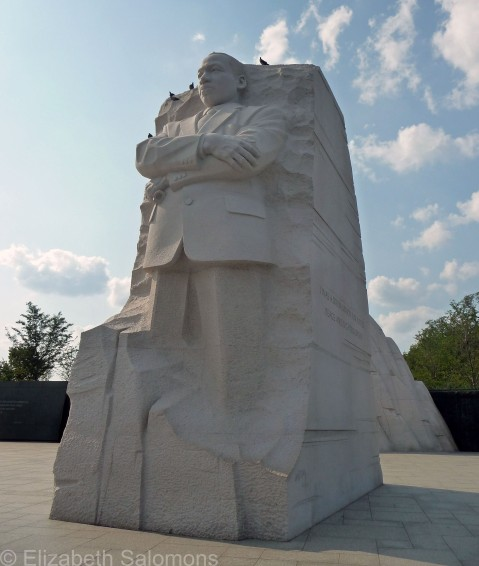 MLK Memorial Side