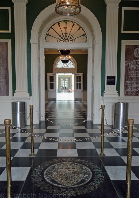 Gilman Hall Entrance Interior