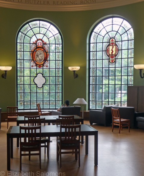 Hutzler Reading Room with Two Windows