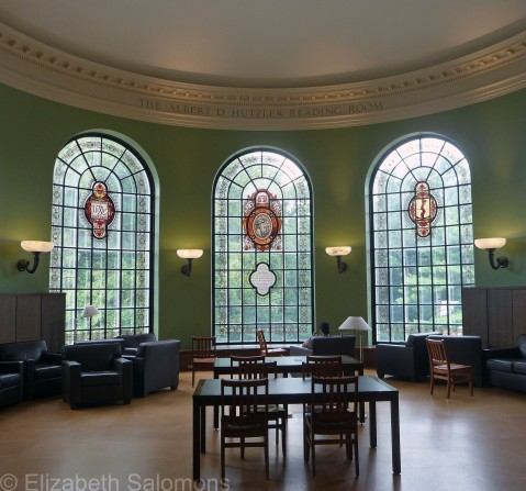 Hutzler Reading Room with Three Windows