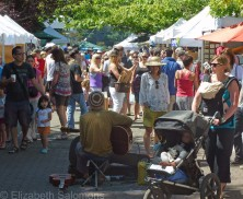 What's available at the Salt Spring Island Saturday Market?