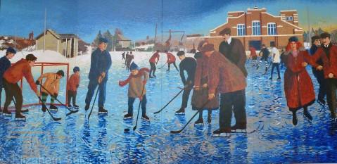 Red Deer Mural 3