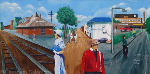 Red Deer Mural 4