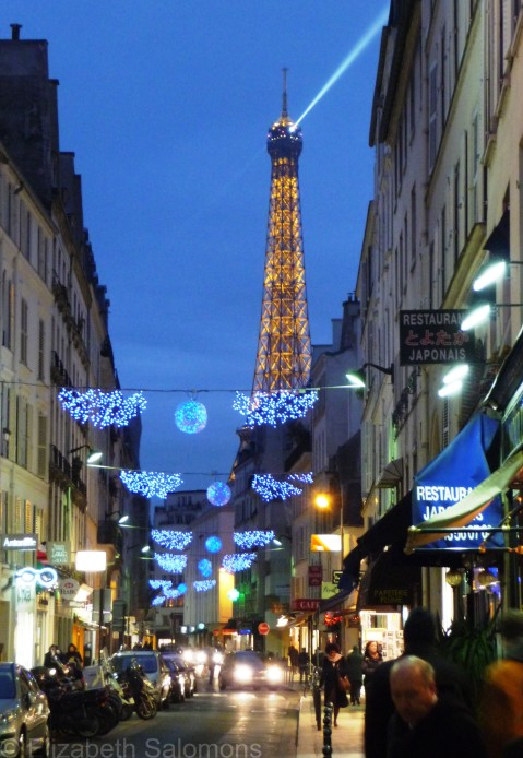 Christmas Eiffel Tower