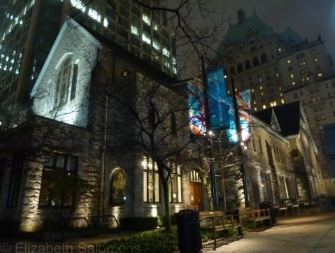 Christ Church Cathedral Night