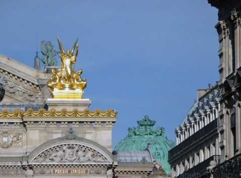 Palais Garnier Detail