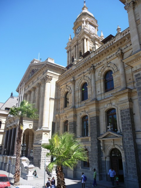 Cape Town City Hall,, February 17, 2011