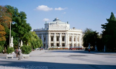 The Burgtheater was completed in 1888.