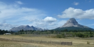 Crowsnest Mountain in southeastern Alberta