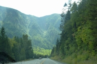 Somewhere between Castlegar and Christina Lake