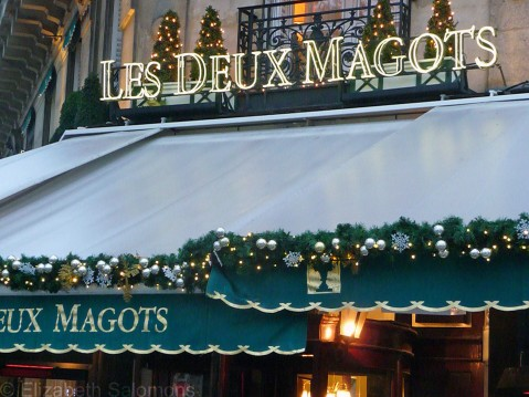 Les Deux Magots Close-up