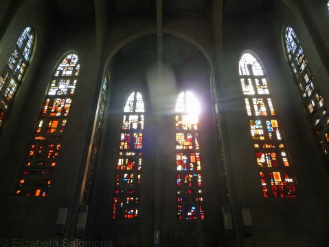 Mission Abbey Window