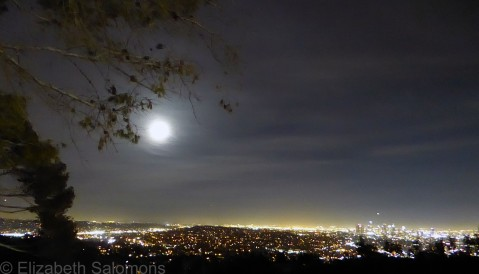 Los Angeles Full Moon