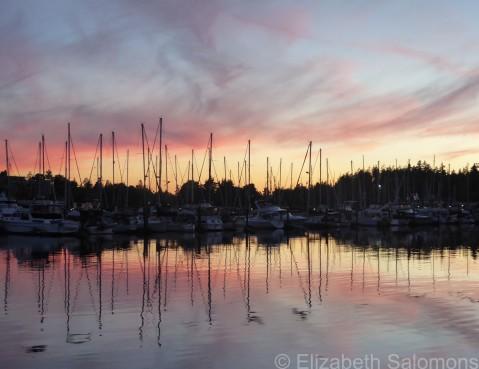 Coal Harbour Sunset