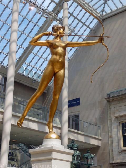 Diana at the Met