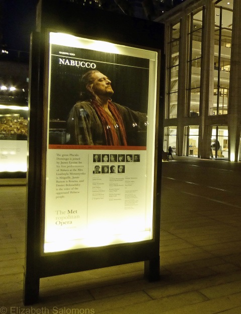 Nabucco Play Bill