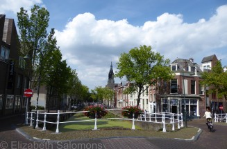Delft Bridge and Canal